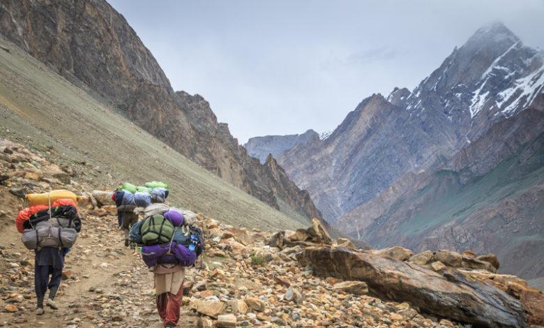 Photo of Gasherbrum IV: spedizione italiana arrivata al campo base