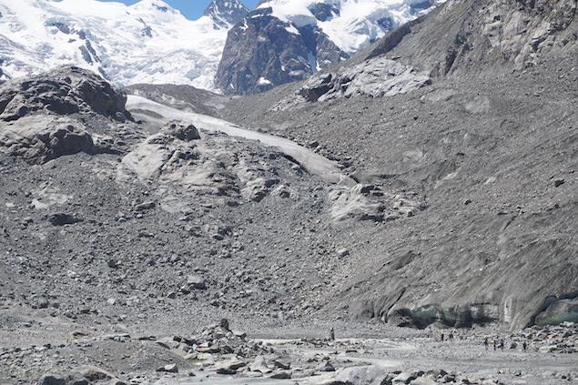 ghiacciaio morterach