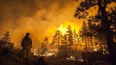 Photo of Incendi, chiuso il Parco Yosemite in California