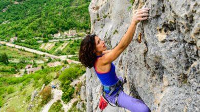 Photo of Della Bordella e Cala Cimenti al Frasassi Climbing Festival