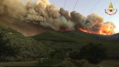 Photo of Pisa: brucia Monte Serra. 700 sfollati, si indaga per dolo