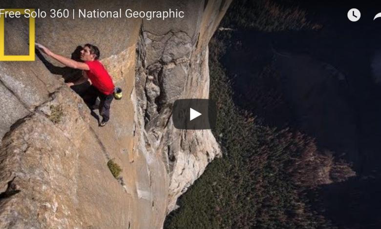 Photo of Free Solo, clip del film sulla salita di Honnold su El Capitan