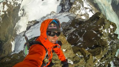 Photo of David Lama, l'avventuriero