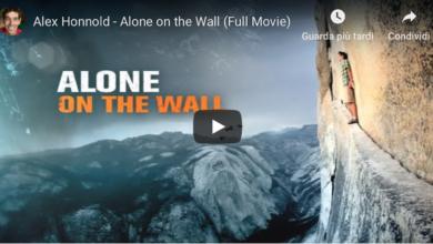 Photo of Alone on the wall, il film integrale di Alex Honnold su Half Dome