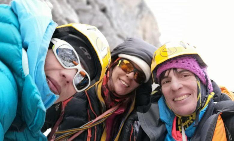 Photo of Nuova via su inviolato Mugu Peaks per Anna Torretta, Cecilia Buil e Ixchel Foordha