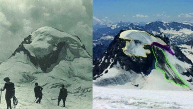Photo of Gran Paradiso, ghiacciaio Grand Etret arretra di 130 metri in un anno