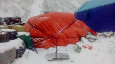 Photo of K2, i materiali della spedizione russa già al campo base