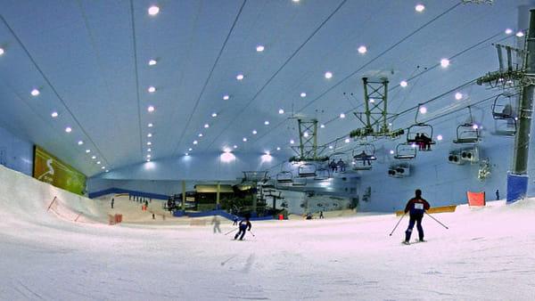Photo of A Milano una pista da sci indoor come a Dubai