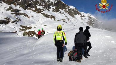 Photo of Sei ragazzi a 2100 mt con scarpe di ginnastica, salvati dall'elisoccorso