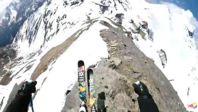Photo of Discesa mozzafiato con gli sci dallo Stelvio per Eder e Mayr