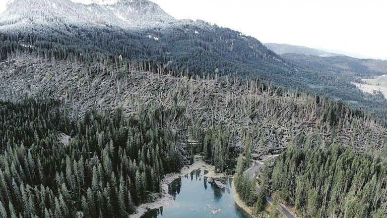 Photo of Tempesta Vaia, oltre 1200 ore di lavoro per ripristino sentieristica