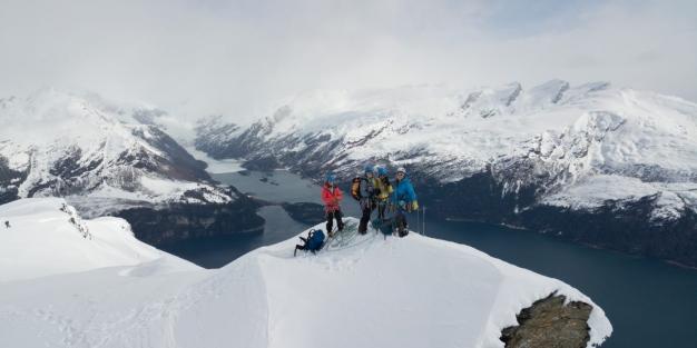 Photo of Tre prime ascensioni nella Cordillera Darwin per team francese