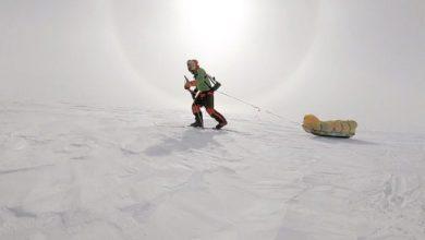 Photo of Colin O'Brady, prima traversata Antartide in solitaria e senza assistenza