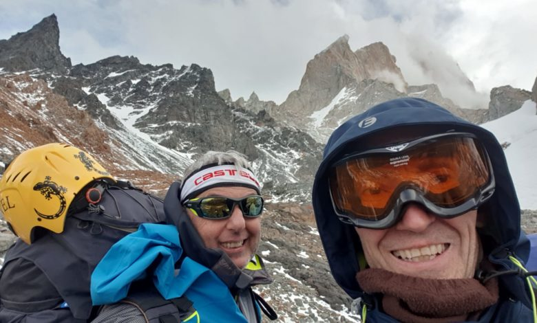 Photo of Silvio Silich e Stefano Figliolia in Patagonia tra salite e bufere