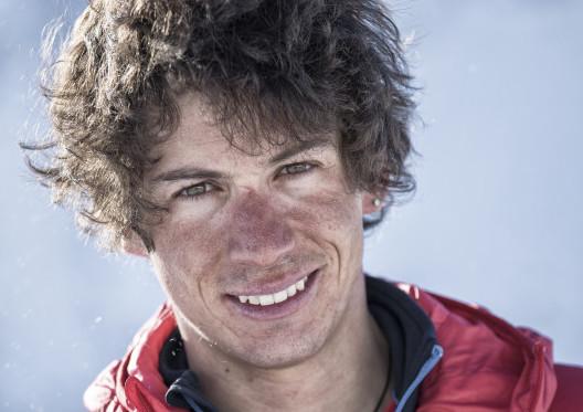 Photo of François Cazzanelli in vetta al Monte Vinson
