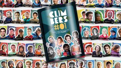 Photo of Climbers#01, la prima raccolta di figurine dell'arrampicata