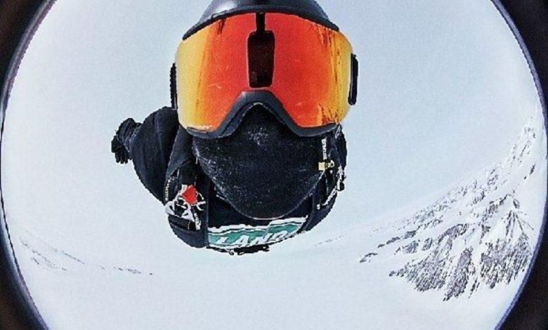 Photo of Callegari si lancia col paracadute. Ok AntarcticaExtreme