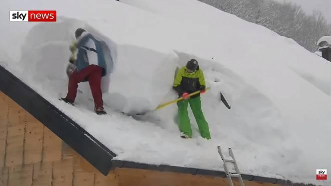 Photo of Emergenza neve in Austria, battuti record storici