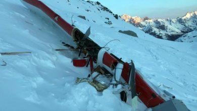 Photo of Scontro aereo-elicottero su Rutor: trovati i due dispersi. Sette i morti