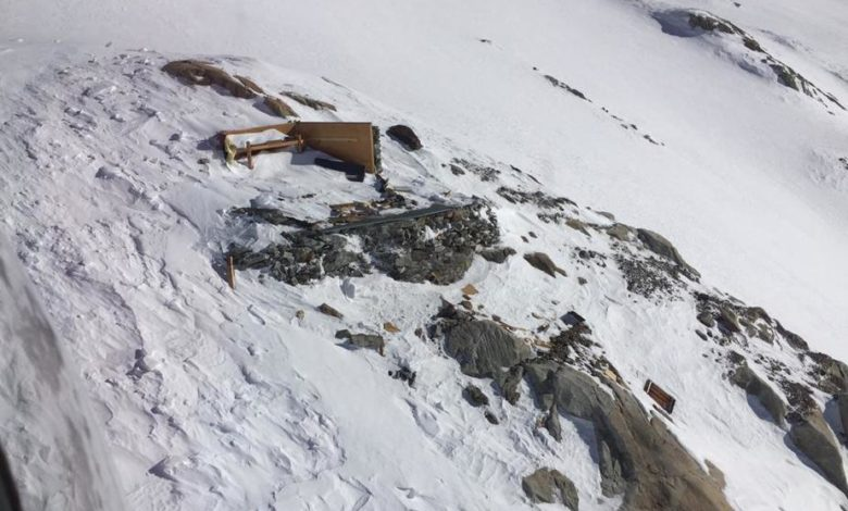 Photo of Distrutto il Mittelaletschbiwak