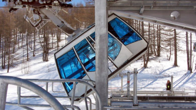 Photo of Scontro tra cabine, due sciatori feriti