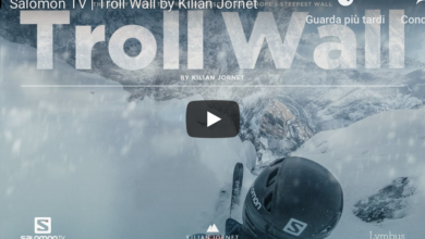 Photo of Kilian Jornet, il film sulla mitica Troll Wall