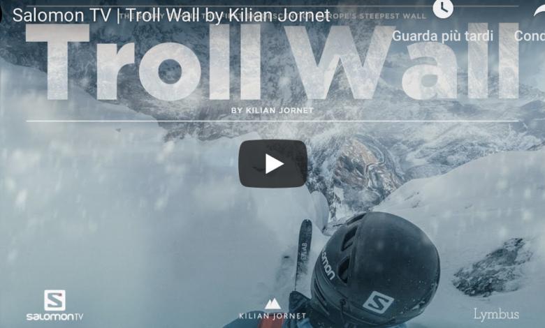 Photo of Kilian Jornet, il film sulla mitica Troll Wall