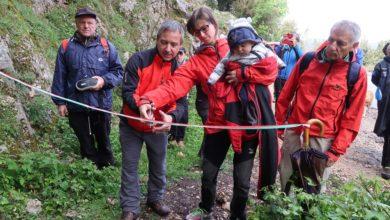 Photo of A Daniele Nardi intitolato il sentiero 710 per il Semprevisa