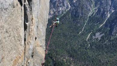 Photo of El Capitan, Selah Schneiter scala The Nose a soli 10 anni