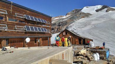 Photo of Monte Rosa, iniziati lavori di ampliamento al Rifugio Sella