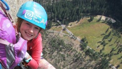 Photo of Bambina di 9 anni scala El Capitan