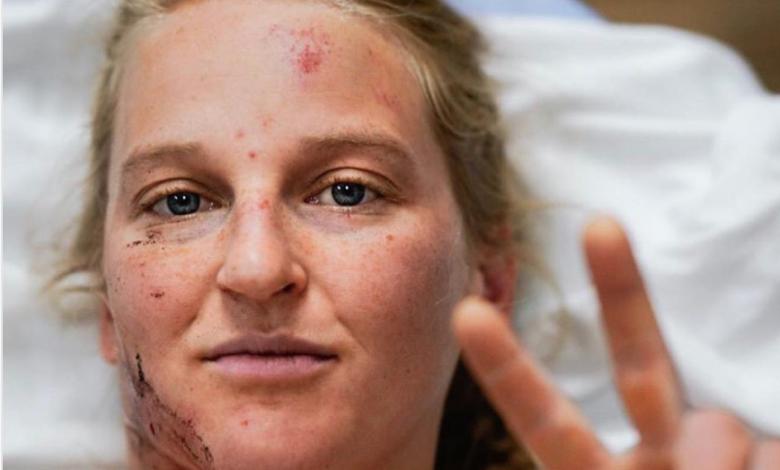 Photo of Emily Harrington, incidente su El Capitan