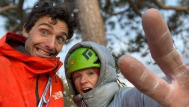 Photo of Larcher e Zangerl salgono in libera The Nose su El Capitan