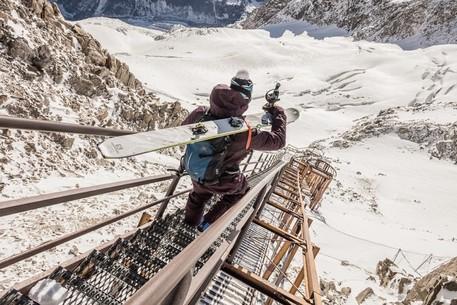 Photo of Monte Bianco, chiusa scala accesso al ghiacciaio del Toula