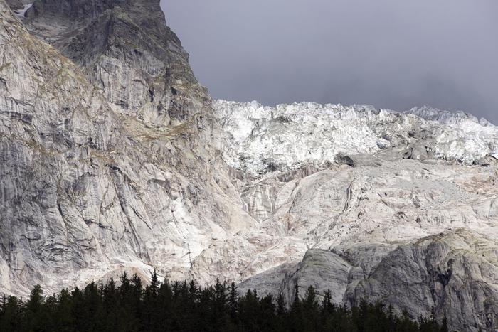 ghiacciaio val ferret