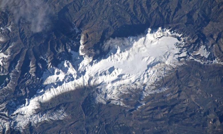 Photo of Luca Parmitano ci regala il Gran Sasso visto dallo spazio