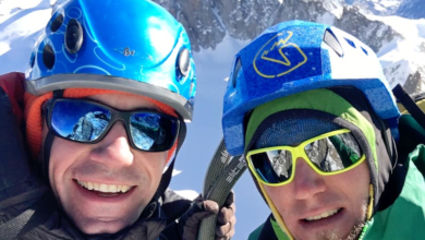 Photo of Filip Babicz e Denis Trento aprono nuova via su Monte Bianco