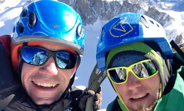 Photo of Filip Babicz e Denis Trento aprono nuova via su Monte Bianco