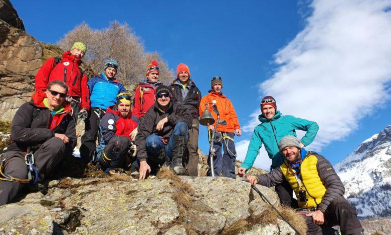 Photo of Campana in ricordo delle guide del Cervino morte in montagna