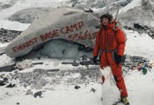 Photo of Jost Kobusch messo a dura prova dall'Everest