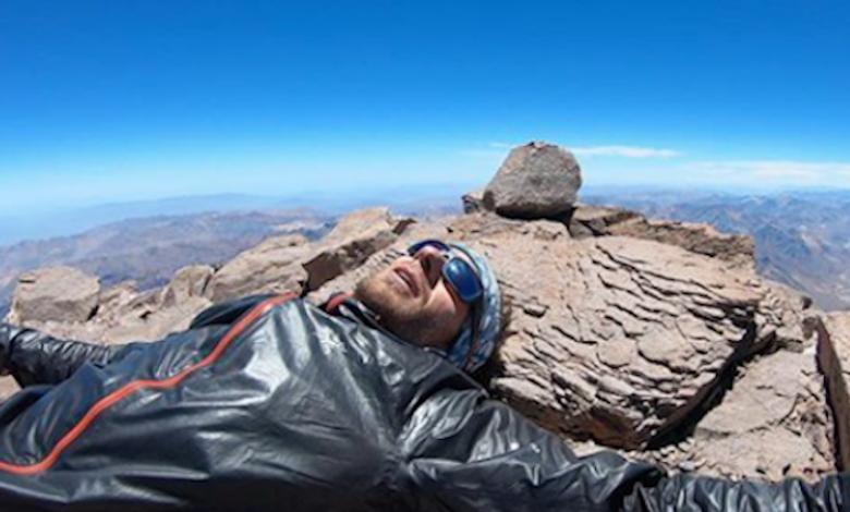 Photo of Martin Zhor, nuovo record di velocità su Aconcagua
