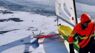 Photo of Ice Flying: finisce nel lago di Resia, è grave