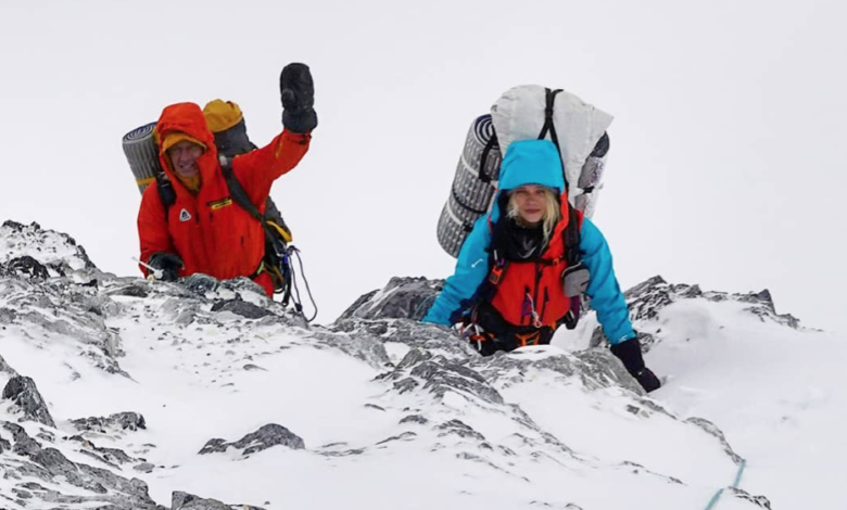 Photo of Denis Urubko verso C3 del Broad Peak