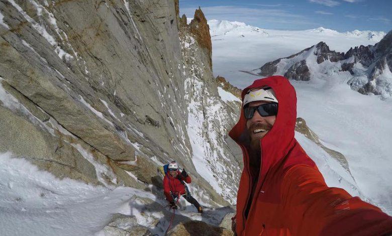 Photo of Edoardo Saccaro e Pietro Picco sul Cerro Torre per la Via dei Ragni