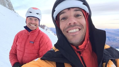 Photo of Colin Haley e Alex Honnold su tre cime in un giorno nel massiccio del Fitz Roy