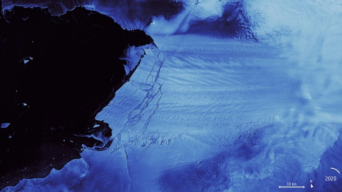 Photo of L'Antartide si sgretola