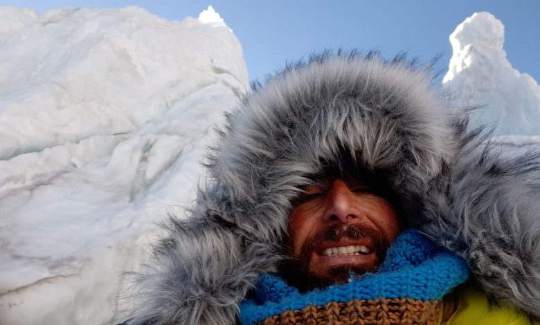Photo of Con Alex Txikon sul ghiacciaio del Khumbu