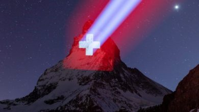 Photo of Zermatt illumina il Cervino in segno di speranza
