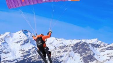 Photo of Giovane speedrider muore su parete nord Aiguille du Midi