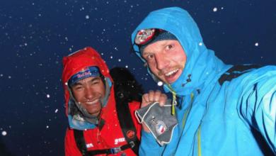 Photo of Cerro Torre, il film. David Lama e Peter Ortner in libera sulla Via del Compressore